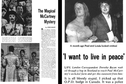 On October 22 1969 Paul McCartney Tried To End A Month Of Fevered Press Speculation Started By Story Published In Tiny Des Moines Student Magazine