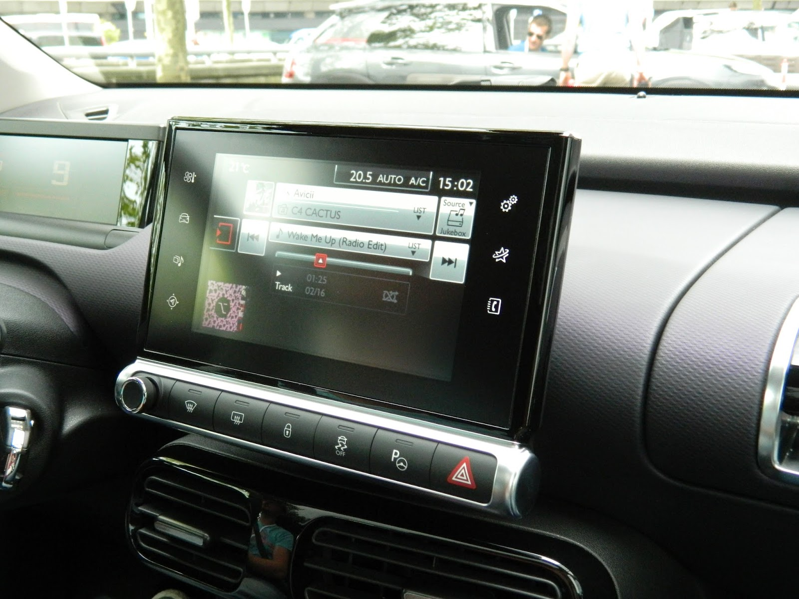 Citroen C4 Cactus touch screen