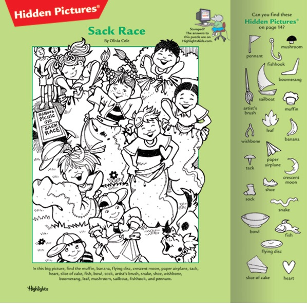 Challenging Hidden Pictures Printable Loves the hidden pictures!