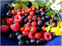 Bright-colored and dark berries provide antioxidants for diabetes