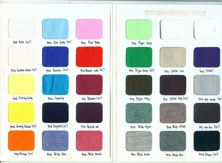 bajubaru company jenis dan warna kain