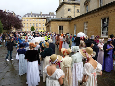 Jane Austen Festival 2015 Regency Promenade in Bath © Andrew Knowles