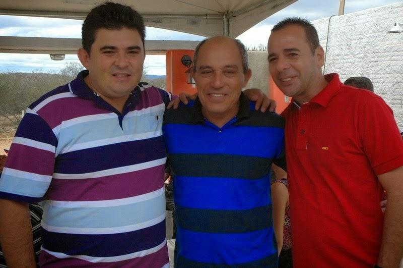 Márcio Leite comemora aniversário em São João do Tigre