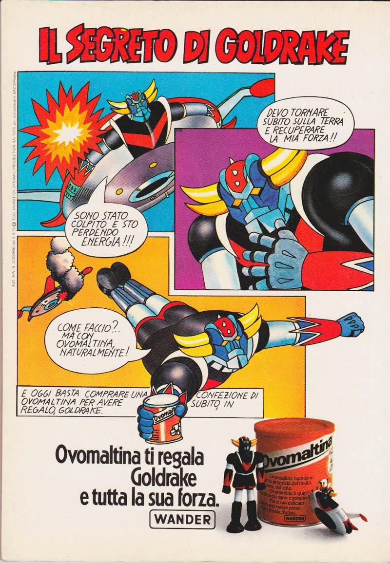 Tele Story Atlas Ufo Robot fumetti Goldrake