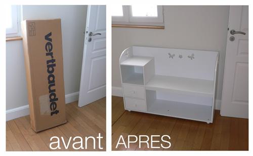 assembler meuble en kit vertdaudet pierre paris. Black Bedroom Furniture Sets. Home Design Ideas