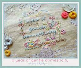 a year of gentle domesticity