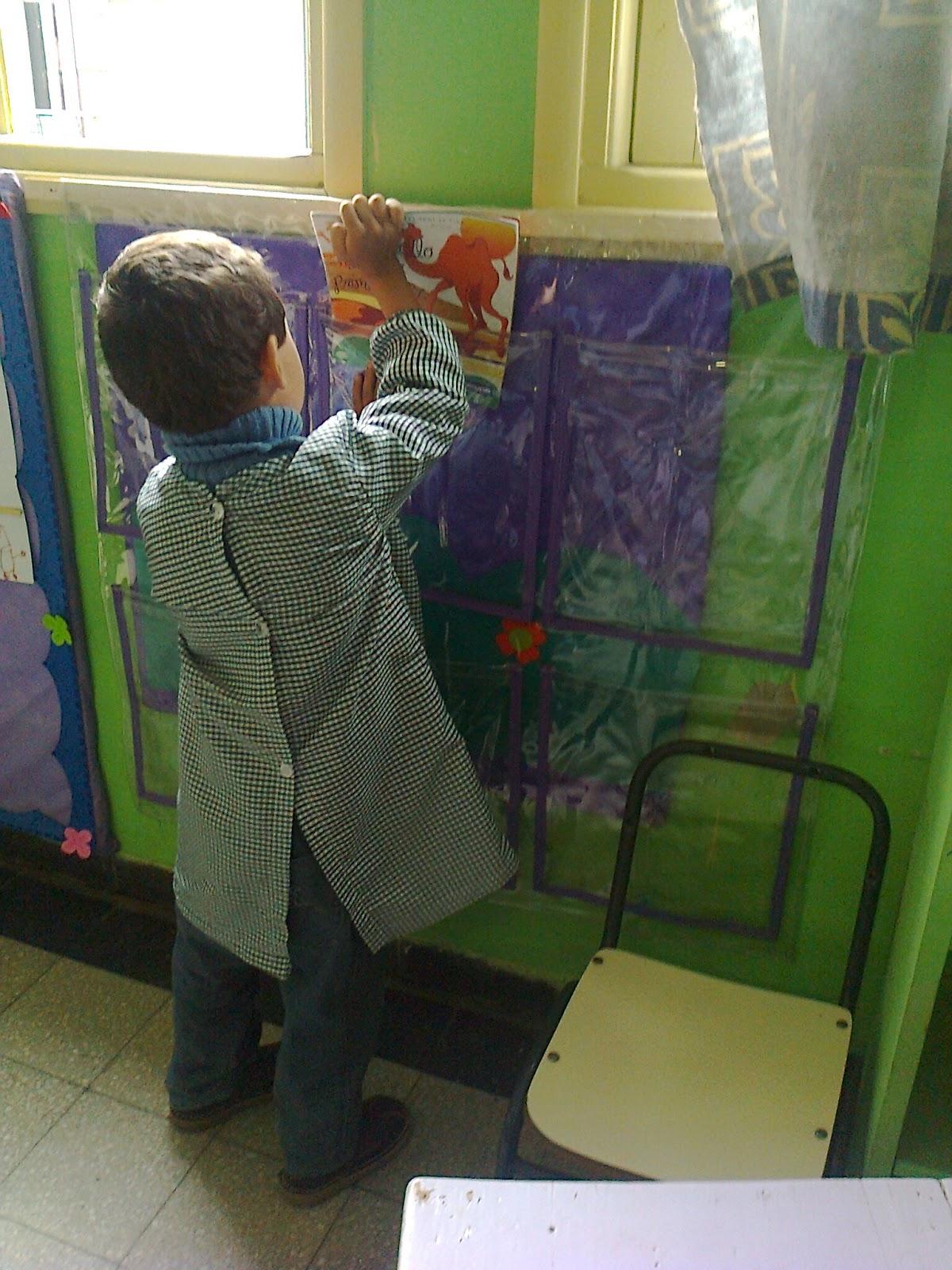 Nivel inicial escuela n 1 los h bitos for Azul naranja jardin de infantes