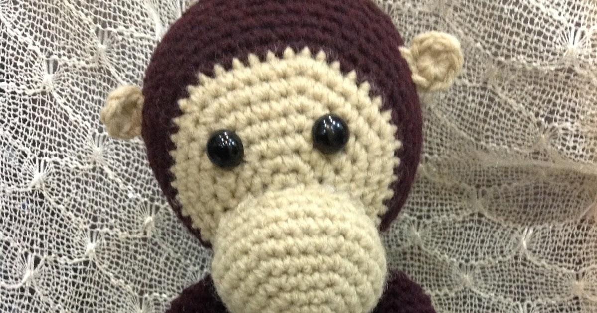 Amigurumi Yarns Manila : Hooks, Crochet & Yarn: Curious George aka Monkey