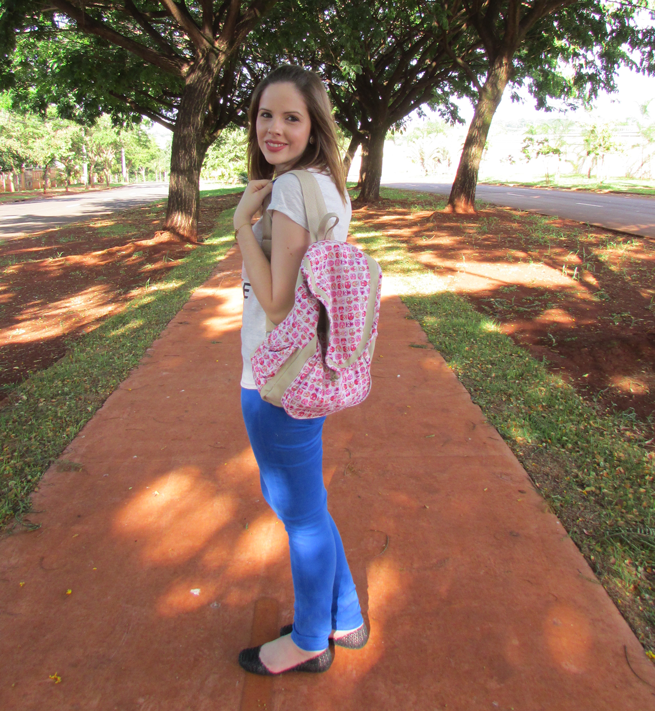 Look do dia, mochilart, Mochila