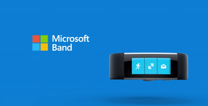 Microsoft Band in official Microsoft promotion video