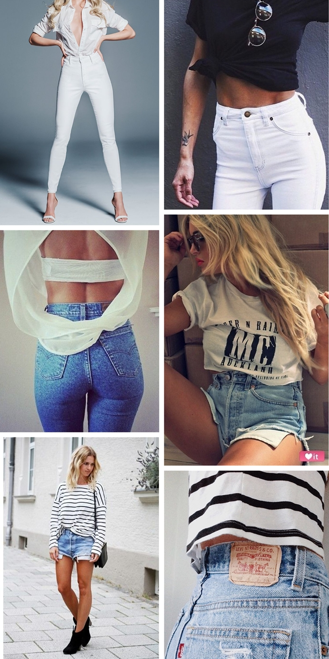 high waisted jeans, outfit inspiration, mother denim, white jeans, high rise jeans