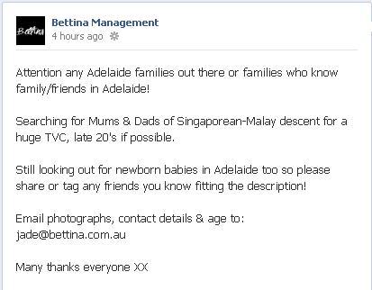 Bettina management open casting calls on facebook open casting calls on facebook pronofoot35fo Choice Image