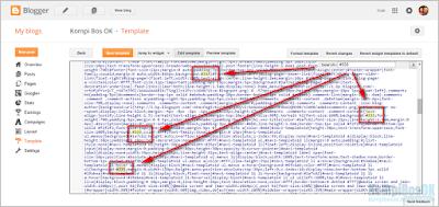 Cara Mudah Merubah Semua Warna Pada Template Blogger