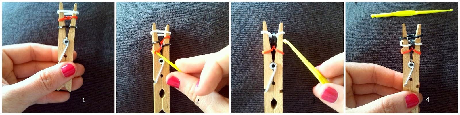 instrucciones pulseras con gomas