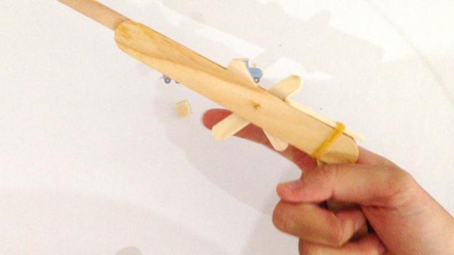 Homemade Click - Clack Toy Gun