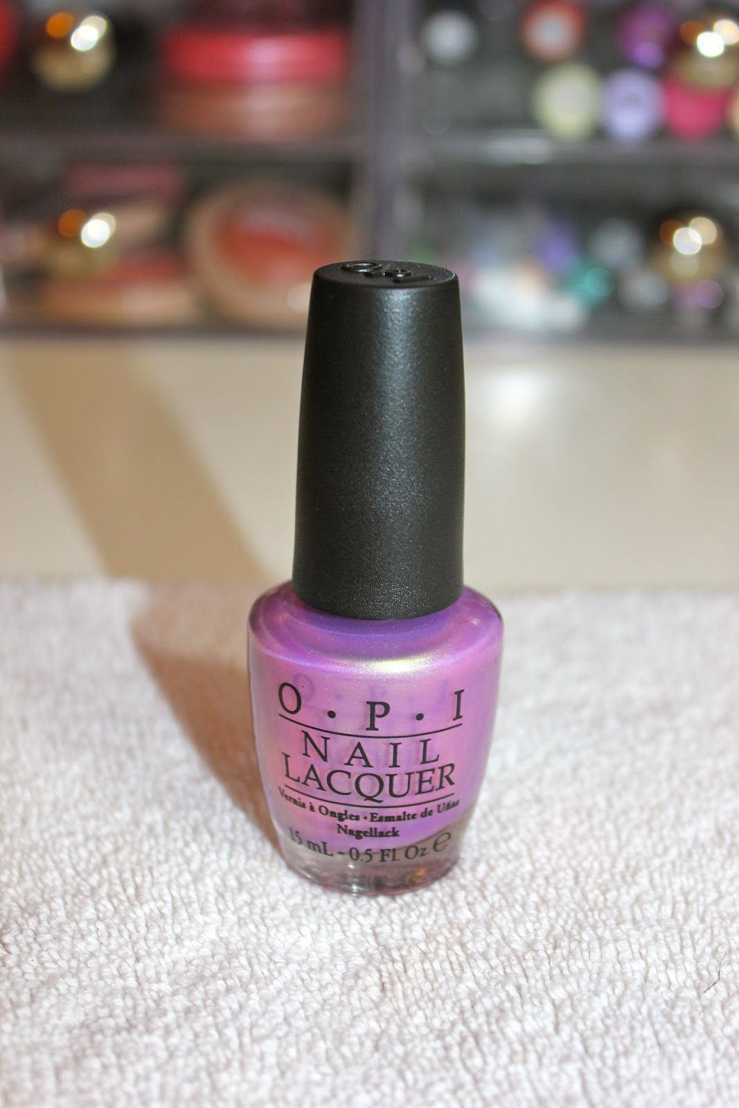 Beautybaby44: Nail of the Day: OPI Significant Other Color