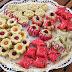 بلاطو اللوز : أربعة أشكال من حلويات اللوز مع طريقة التحضير بالصور