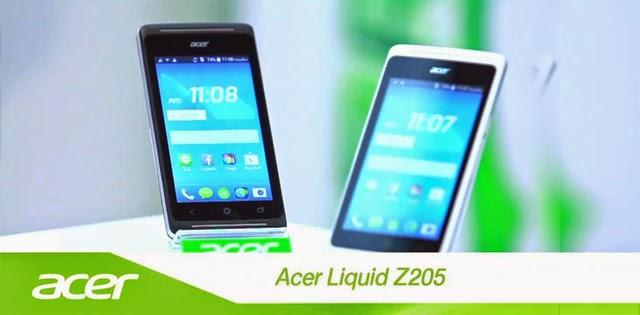 Acer Liquid Z205, Smartphone Murah Hanya Rp 700 Ribuan