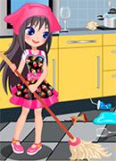 Ежедневная уборка - Онлайн игра для девочек