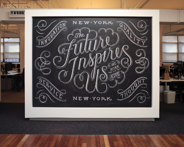 Dana Tanamachi, Pizarras y Tizas - chalk letterer
