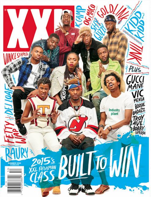 XXL FRESHMAN CLASS OF 2015 Cover