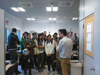 visita, faico, alumnos, ingenieria, Dr Pablo Aguilera, teoria de la señal, manuel smolcic, david jimenez, miguel angel aragon, jose antonio sanchez
