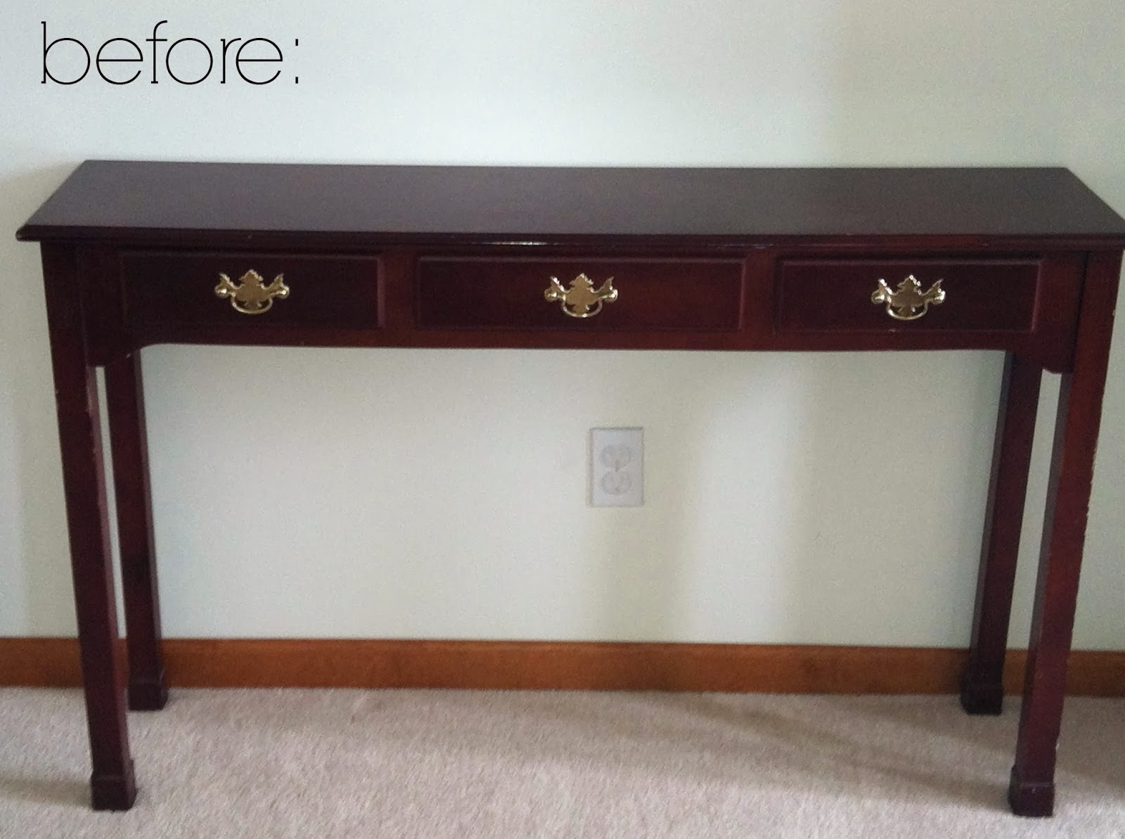 A Console Table Facelift House By Hoff