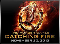 Catching Fire Logo Poster - Movie companion to be released along with film on November 22nd 2013