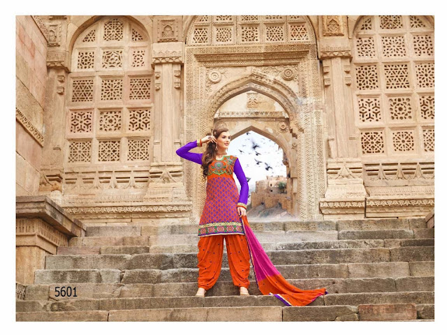 Patiala Fashion Style Salwar Suits Collection