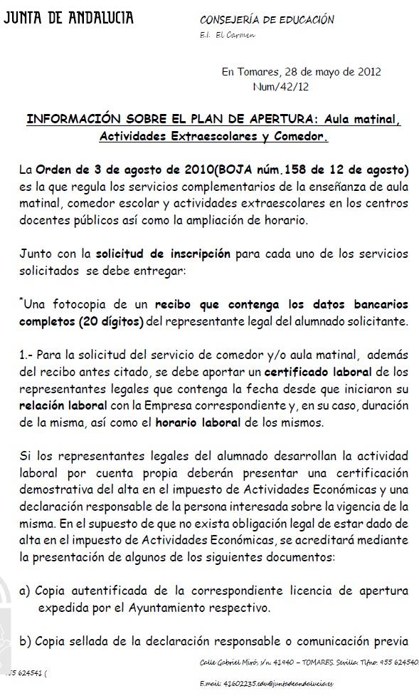 a.m.p.a. el carmen: 1/05/12