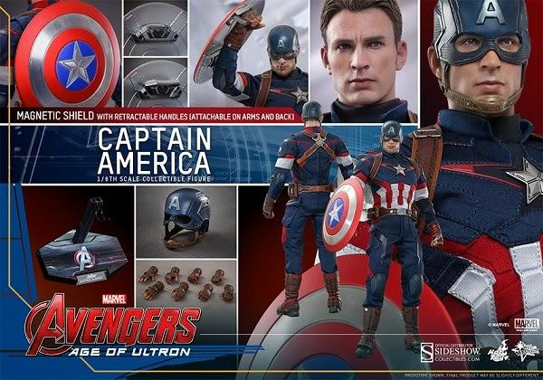 Captain America - Avengers: Age of Ultron (2015)