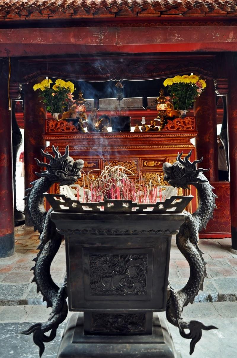 Rächerstäbchen, Literaturtempel, Hanoi
