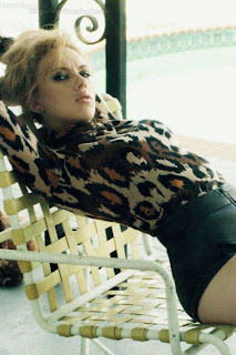 Scarlett Johansson Flare Magazine Covershoot