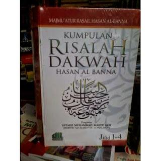 Jual Buku Dakwah Tarbiyah   Kumpulan Risalah Dakwah Hasan Al-Banna Jilid 1- 4