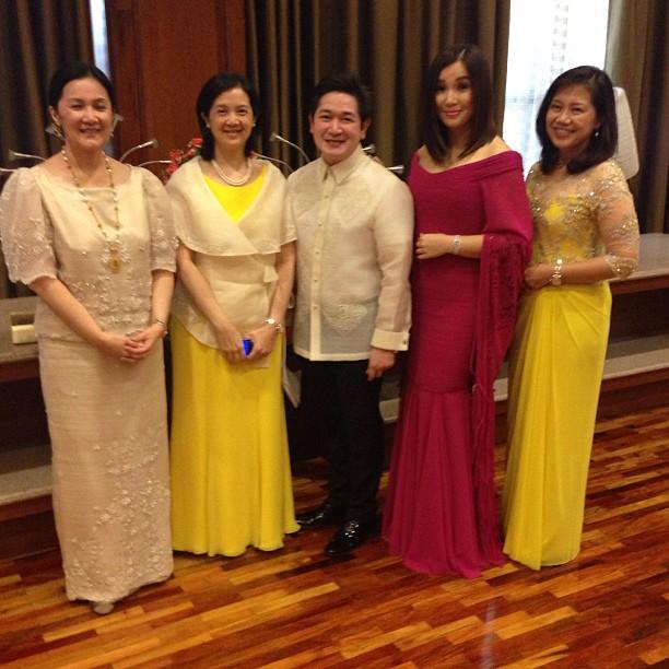 Stars Sighting at SONA 2013: Kris Aquino, Heart Evangelista, Dawn ...