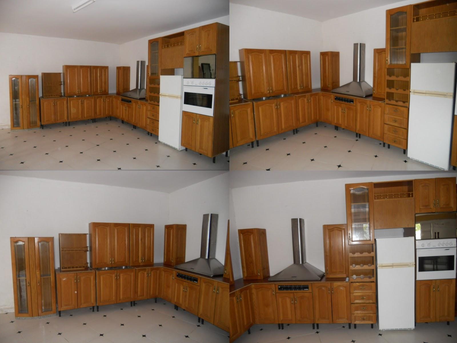 Publicidad los pedroches muebles de cocina roble con - Cocina con electrodomesticos ...