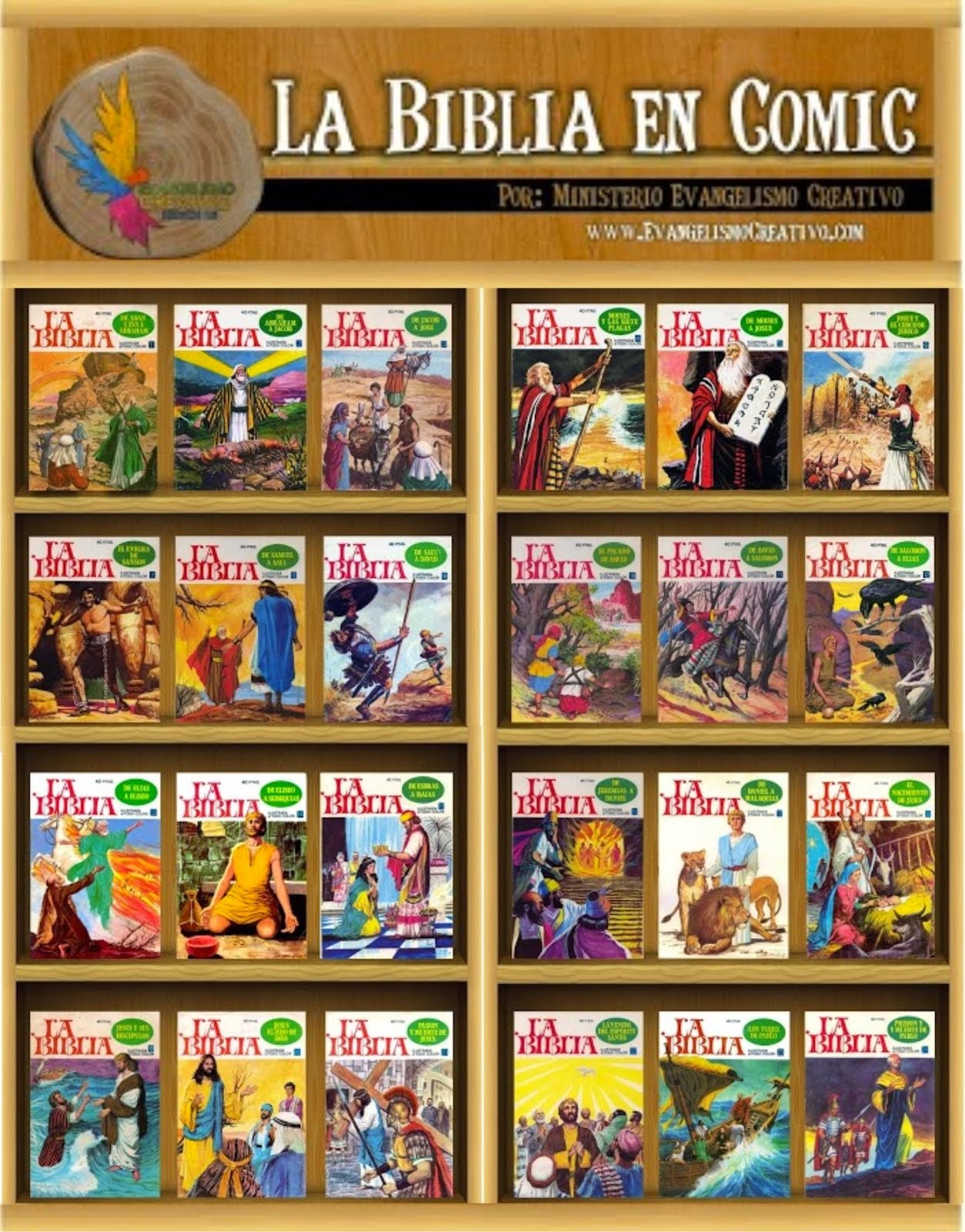 La Biblia en Comic