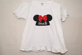 Minnie Mouse shirt personalized