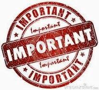 O que é importante?