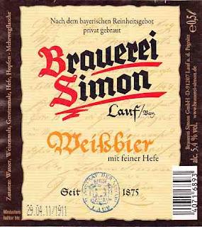 Simon Lauf Weißbier