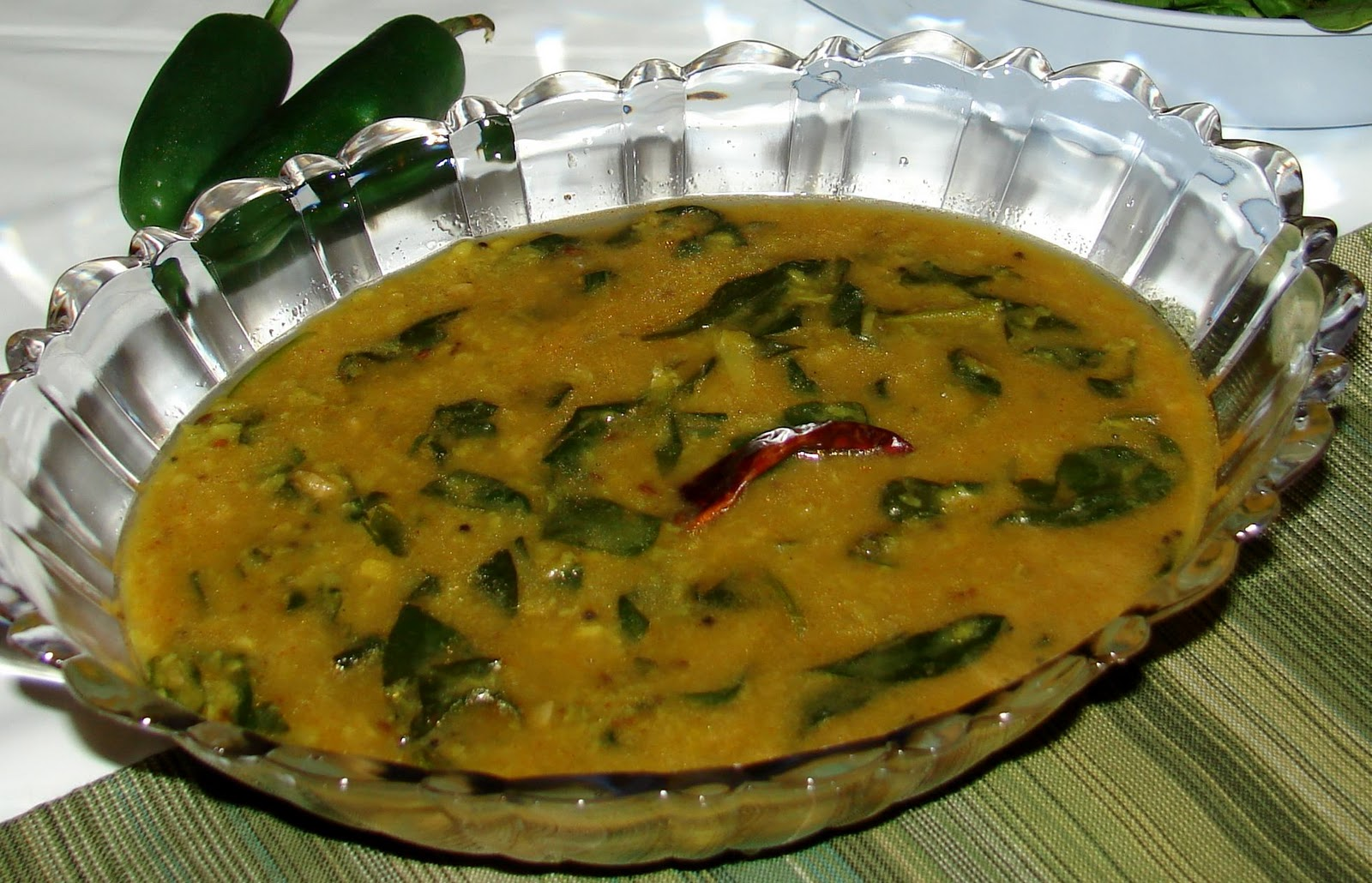 with spinach aloo palak spinach with potatoes dal palak jpg 3 green ...