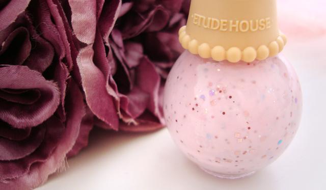 Etude House, Sweet Recipe, nail polish, ice cream