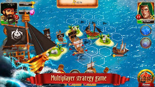 Screenshots of the Pirate battles: Corsairs bay for Android tablet, phone.