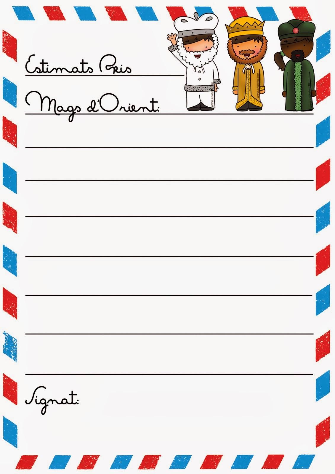 Worksheet. 2 PRIMARIA SAN AGUSTIN PALMA 201415 Carta a los Reyes Magos de
