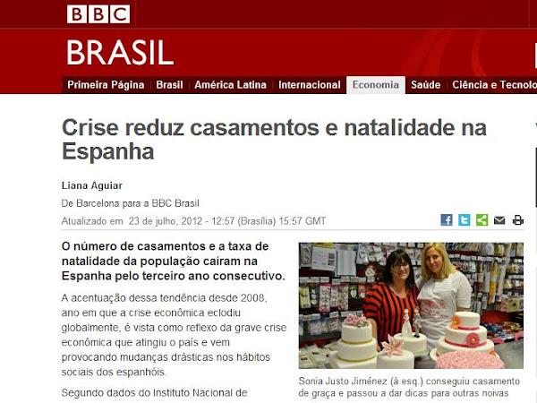 Mi historia cruza el charco: ¡BBC Brasil habla de Mi boda gratis!