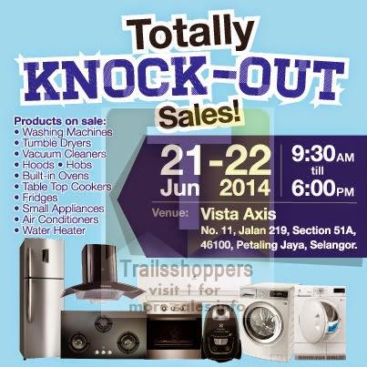 Electrolux Malaysia Warehouse Sales