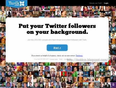 personalizar el fondo de twitter