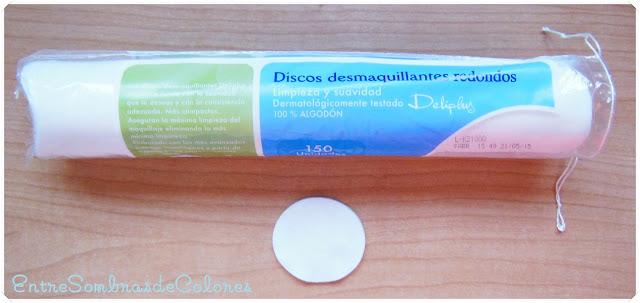 discos desmaquillantes Deliplus (Mercadona)