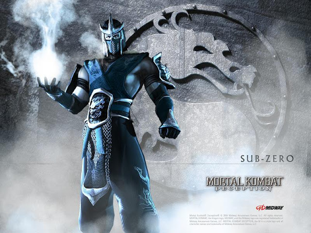 mortal kombat deception sub-zero