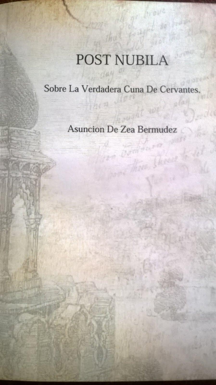 POST NUBILA (sobre la verdadera cuna de Cervantes)